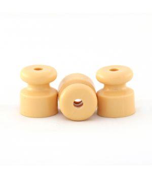 Изолятор пластиковый желтый