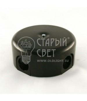 """Распределительная коробка пластиковая черная """"Bironi"""""""