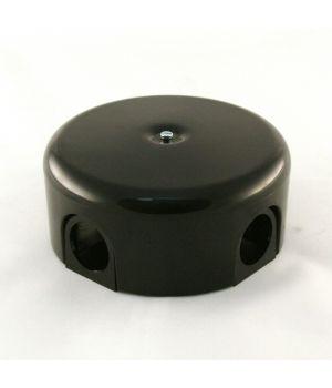 """Распределительная коробка 110 мм пластиковая черная """"Bironi"""""""