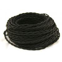Провод витой 2х2,5мм² черный