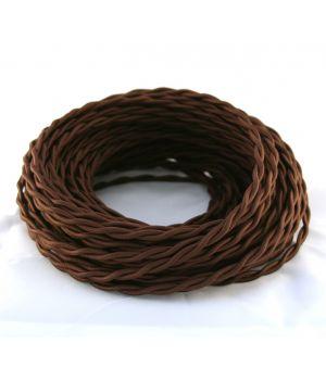 Провод витой 2х2,5мм² коричневый