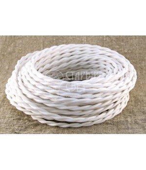 Провод витой 2х1,5мм² белый