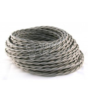 Провод витой 2х1,5мм²  Серый