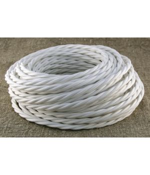 Провод витой 3х2,5мм² белый