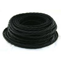 Провод витой 3х1,5мм² черный