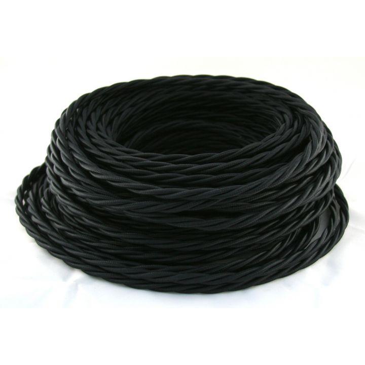 Провод витой 3х2,5мм² черный