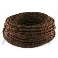 Провод витой 3х1,5мм² коричневый