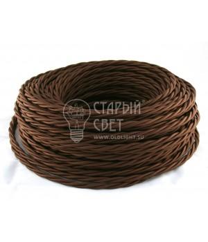 Провод витой 3х2,5мм² коричневый