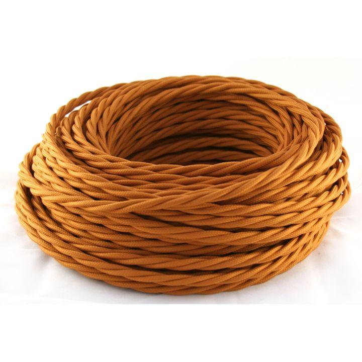 Провод витой 3х1,5мм² медного цвета