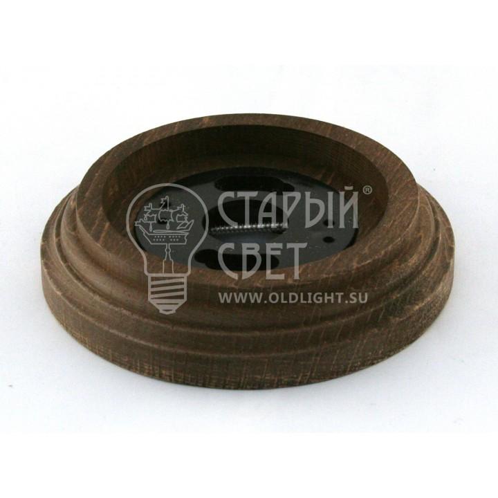 """Рамка деревянная 1 место """"Старое дерево"""". Материал - бук."""