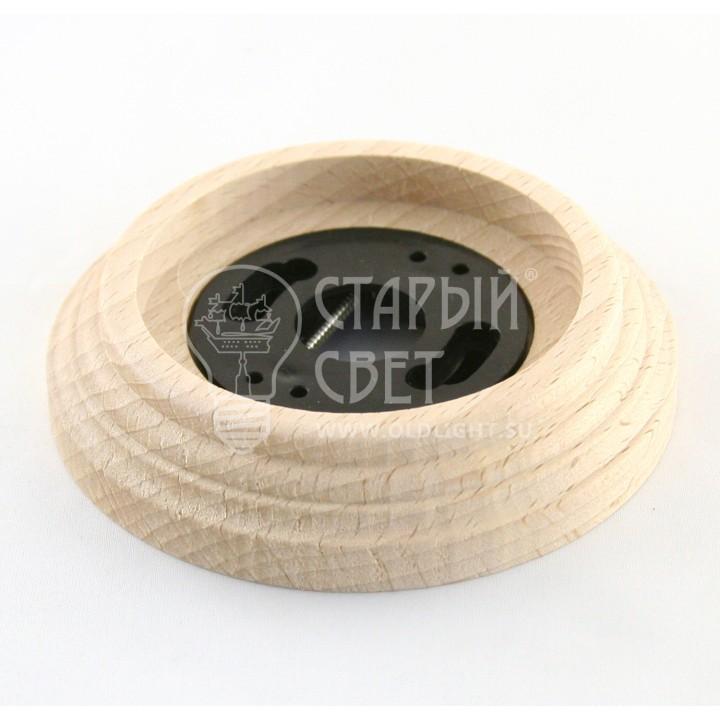 """Рамка деревянная 1 место """"Натурель"""". Материал - бук."""