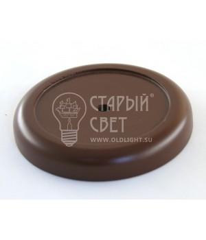"""Рамка деревянная одноместная """"Vintage"""" Цвет - коричневый"""