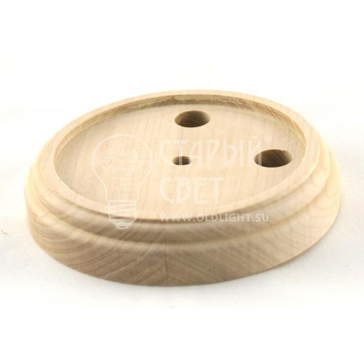Рамка деревянная одноместная без покрытия (для изделий из латуни).