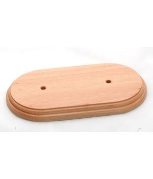 "Рамка деревянная двухместная ""Старый Свет"". Цвет - бук"