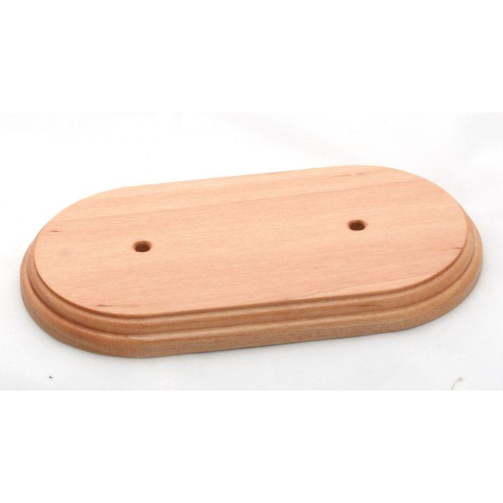 Рамка деревянная двухместная Цвет - бук