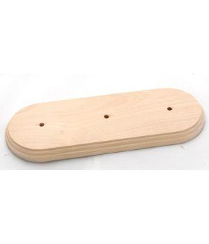 """Рамка деревянная трехместная без покрытия """"Старый Свет"""""""