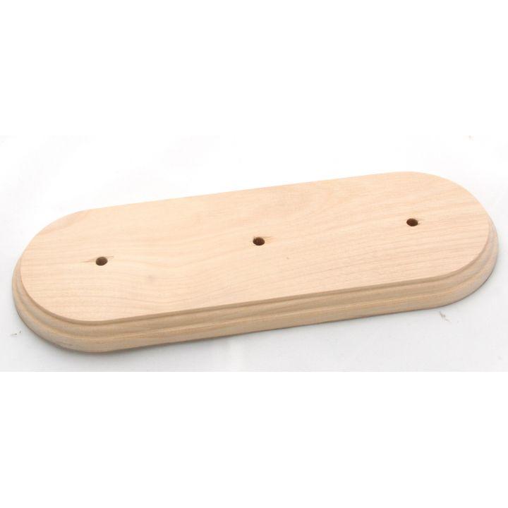 """Рамка деревянная на 3 места без покрытия """"Старый Свет"""""""