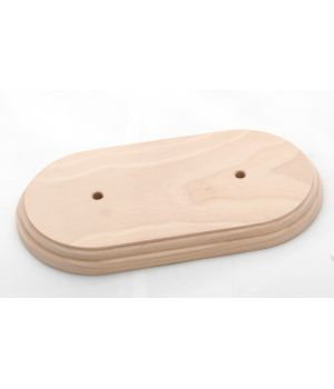 """Рамка деревянная двухместная без покрытия """"Старый Свет"""""""